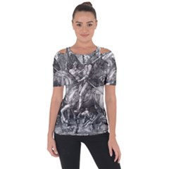 Death And The Devil   Albrecht D¨1rer Short Sleeve Top