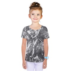 Death And The Devil   Albrecht D¨1rer Kids  One Piece Tee