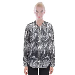 Death And The Devil   Albrecht D¨1rer Womens Long Sleeve Shirt