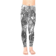 Death And The Devil   Albrecht D¨1rer Kids  Legging