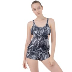 Death And The Devil   Albrecht D¨1rer Boyleg Tankini Set