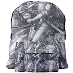Death And The Devil   Albrecht D¨1rer Giant Full Print Backpack