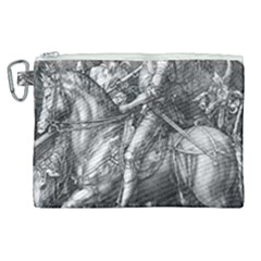 Death And The Devil   Albrecht D¨1rer Canvas Cosmetic Bag (xl)