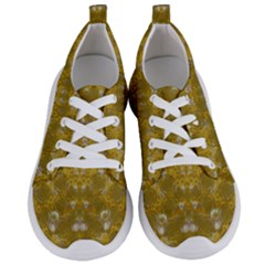 Golden Stars In Modern Renaissance Style Women s Lightweight Sports Shoes