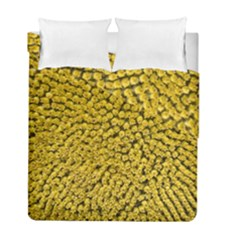Sunflower Head (helianthus Annuus) Hungary Felsotold Duvet Cover Double Side (full/ Double Size)