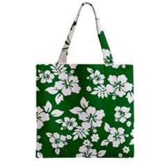 Hibiscus Flower Grocery Tote Bag