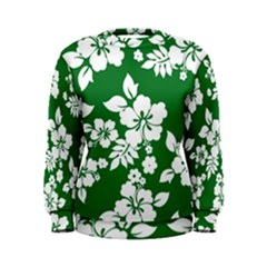 Hibiscus Flower Women s Sweatshirt