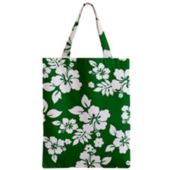 Hibiscus Flower Zipper Classic Tote Bag