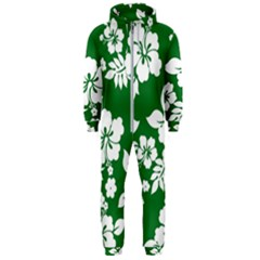 Hibiscus Flower Hooded Jumpsuit (men)