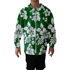 Hibiscus Flower Hooded Wind Breaker (kids)
