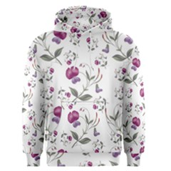 Floral Wallpaper Pattern Seamless Men s Pullover Hoodie