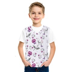 Floral Wallpaper Pattern Seamless Kids  Sportswear