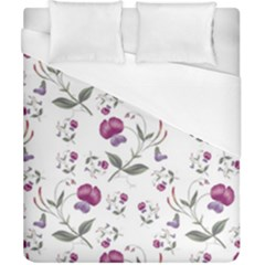Floral Wallpaper Pattern Seamless Duvet Cover (california King Size)