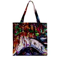 Gatchina Park Zipper Grocery Tote Bag by bestdesignintheworld