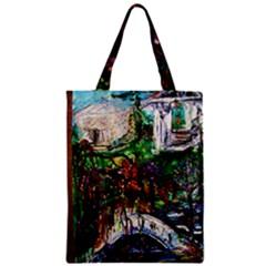 Gatchina Park 4 Zipper Classic Tote Bag