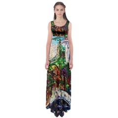Gatchina Park 4 Empire Waist Maxi Dress