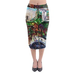 Gatchina Park 4 Midi Pencil Skirt by bestdesignintheworld