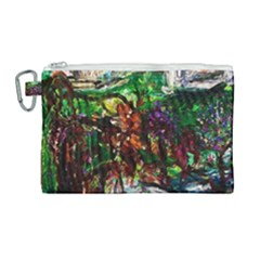 Gatchina Park 4 Canvas Cosmetic Bag (large) by bestdesignintheworld