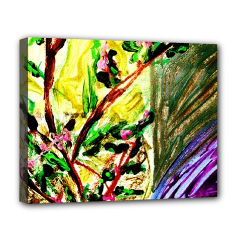House Will Be Buit 4 Deluxe Canvas 20  X 16   by bestdesignintheworld