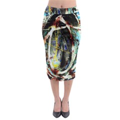 Egg In The Duck Midi Pencil Skirt