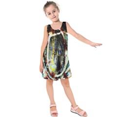 Egg In The Duck Kids  Sleeveless Dress