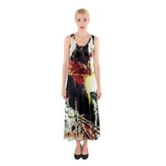 Egg In The Duck   Needle In The Egg Sleeveless Maxi Dress