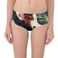 Egg In The Duck   Needle In The Egg Mid Waist Bikini Bottoms