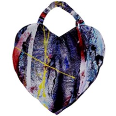 Egg In The Duck   Needle In The Egg 7 Giant Heart Shaped Tote