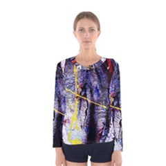 Egg In The Duck   Needle In The Egg 7 Women s Long Sleeve Tee