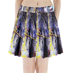 Egg In The Duck   Needle In The Egg 7 Pleated Mini Skirt