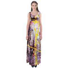Egg In The Duck   Needle In The Egg 1 Empire Waist Maxi Dress