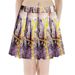 Egg In The Duck   Needle In The Egg 1 Pleated Mini Skirt