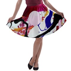 Immediate Attraction 8 A Line Skater Skirt