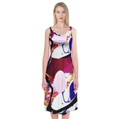 Immediate Attraction 8 Midi Sleeveless Dress
