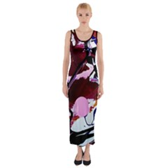 Immediate Attraction 1 Fitted Maxi Dress