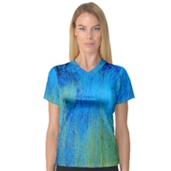 Artscape 1   Coming Of Summer V Neck Sport Mesh Tee