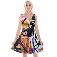 Immediate Attraction 2 Reversible Velvet Sleeveless Dress