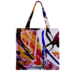 Immediate Attraction 6 Zipper Grocery Tote Bag by bestdesignintheworld