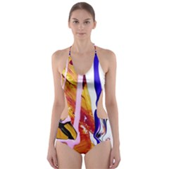 Immediate Attraction 6 Cut Out One Piece Swimsuit