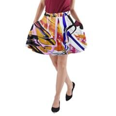 Immediate Attraction 6 A Line Pocket Skirt