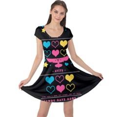 Alex Smooch Back Cap Sleeve Dress
