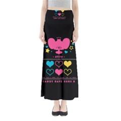 Alex Smooch Back Full Length Maxi Skirt