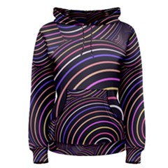 Abtract Colorful Spheres Women s Pullover Hoodie
