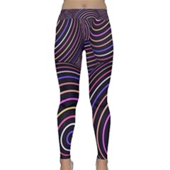 Abtract Colorful Spheres Classic Yoga Leggings