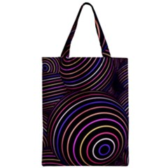 Abtract Colorful Spheres Zipper Classic Tote Bag