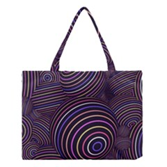 Abtract Colorful Spheres Medium Tote Bag