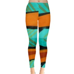 Abstract Art Artistic Classic Winter Leggings by Modern2018