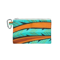 Abstract Art Artistic Canvas Cosmetic Bag (small)