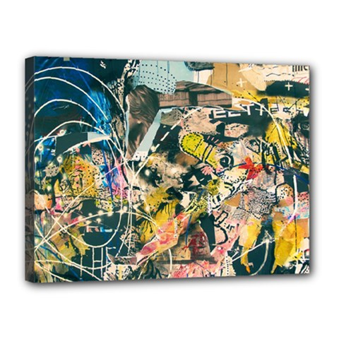 Abstract Art Berlin Canvas 16  X 12  by Modern2018