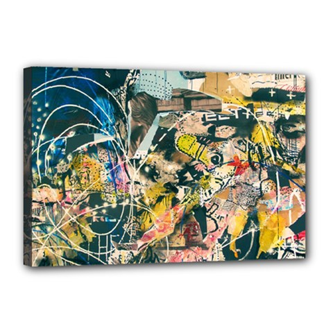 Abstract Art Berlin Canvas 18  X 12